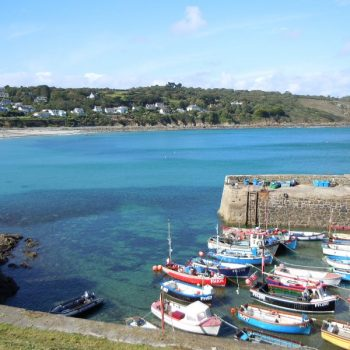 Coverack on the Lizard in West Cornwall